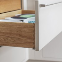 dovetailed drawer, inframe kitchen